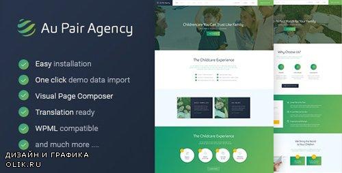 ThemeForest - Au-Pair v1.2.2 - Babysitting & Nanny Agency WordPress Theme - 16883968
