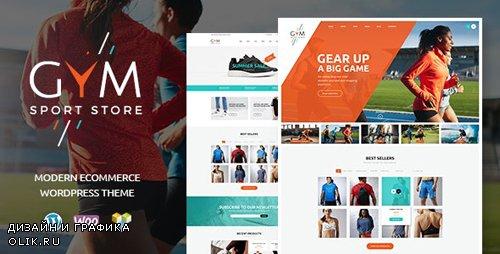 ThemeForest - GYM v1.2.2 - Sports Clothing & Equipment Store WordPress Theme - 17254940