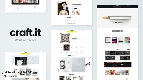 ThemeForest - Craftit v2.0 - Artisan Shopping Theme - 19389758