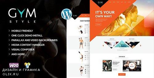 ThemeForest - GYM v1.9.2 - Sport & Fitness Club WordPress Theme - 12016226