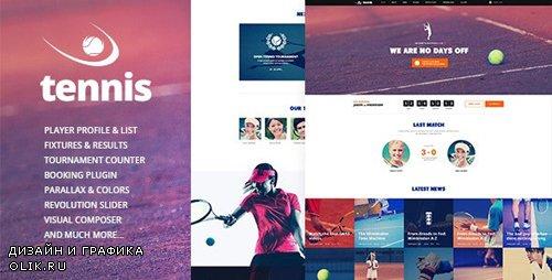 ThemeForest - Tennis v1.2.3 - Sport Club Events WordPress Theme - 17048372