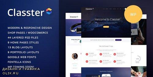 ThemeForest - Classter v2.5 - A Colorful Multi-Purpose WordPress Theme - 10300637