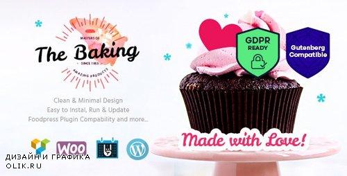 ThemeForest - Bakery v1.3.1 - Cake Shop / Cafe WordPress Theme - 17731477