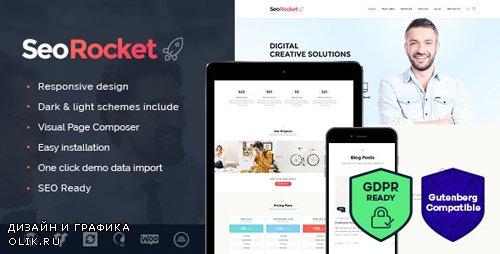ThemeForest - Seo Rocket v1.3 - Advertising & Marketing WordPress Theme - 14611596