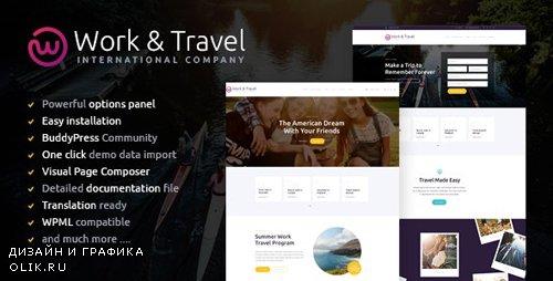 ThemeForest - Work & Travel v1.2 - Company & Youth Programs WordPress Theme - 16884764