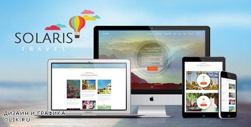 ThemeForest - Solaris v2.5 - Travel Agency and Tour Booking Tourism WordPress Theme - 11529981