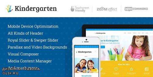 ThemeForest - Kindergarten v3.8 - Day Care Children & School Education WordPress Theme - 8039555