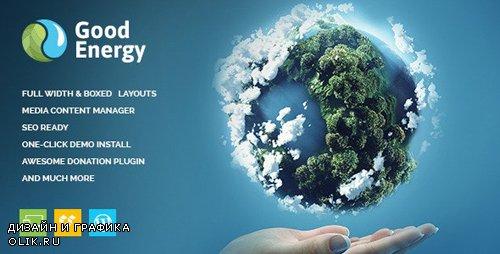 ThemeForest - Good Energy v1.6 - Ecology & Renewable Power Company WordPress Theme - 12909437