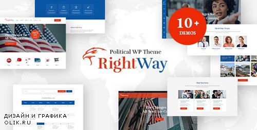 ThemeForest - Right Way v4.0 - Election Campaign and Political Candidate WordPress Theme - 9091481