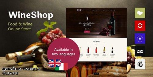 ThemeForest - WineShop v2.3.1 - Food & Wine Online Store WordPress Theme - 13417308