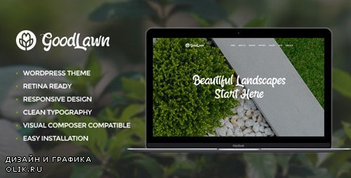 ThemeForest - Green Thumb v1.1 - Gardening & Landscaping Services WordPress Theme - 20860747