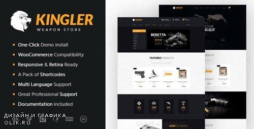 ThemeForest - Kingler v1.7 - Weapon Store & Gun Training WordPress Theme - 15450922