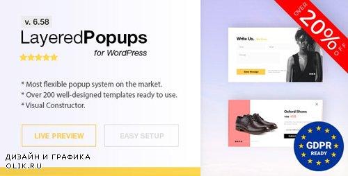 CodeCanyon - Popup Plugin for WordPress - Layered Popups v6.58 - 5978263