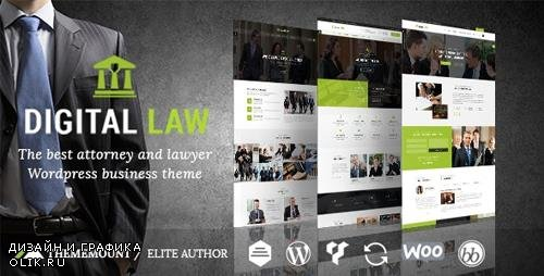 ThemeForest - Digital Law v8.0 - Attorney & Legal Advisor WordPress Theme - 15706323