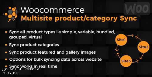CodeCanyon - WooCommerce Multisite Product & Category Sync v1.0 (Update: 2 May 19) - 19560922