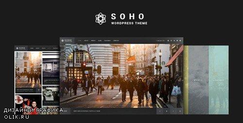 ThemeForest - SOHO v2.7.1 - Photography WordPress Theme - 10020792 - NULLED