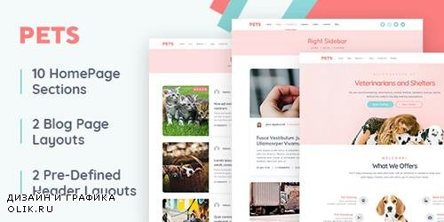 MyThemeShop - Pets v1.0.0 - The Only WordPress Theme Perfect for Animal Lovers