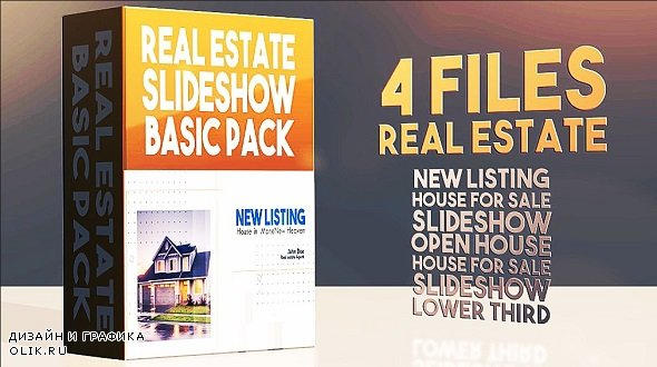 Real Estate Slideshows Basic Pack 295010 - After Effects Templates