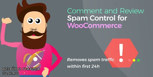 CodeCanyon - Comment and Review Spam Control for WooCommerce v1.0.4 - 24305144