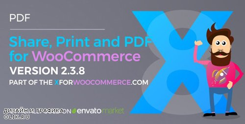 CodeCanyon - Share, Print and PDF Products for WooCommerce v2.4.2 - 13127221