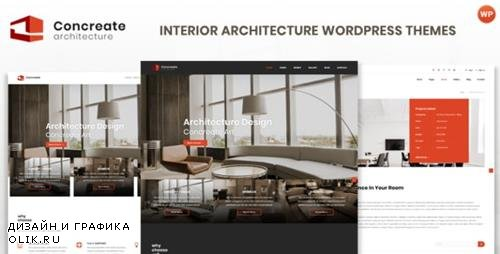 ThemeForest - Concreate v1.2 - Interior Architecture Interactive WordPress Theme - 23164915