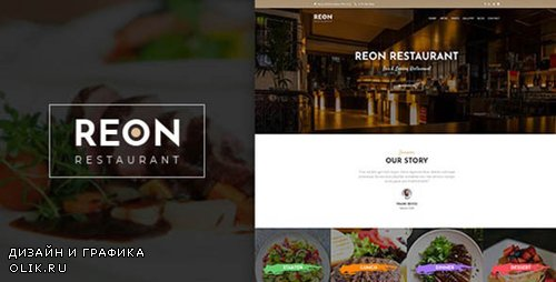 ThemeForest - Reon v1.0.7 - Restaurant WordPress Theme - 23140918