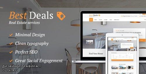 ThemeForest - Best Deals v1.4.3 - A Modern Property Sales & Rental WP - 13479462