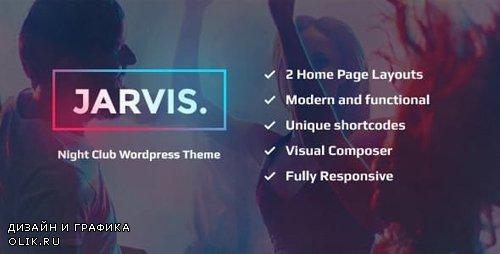 ThemeForest - Jarvis v1.8 - Night Club, Concert, Festival WordPress Theme - 14397077