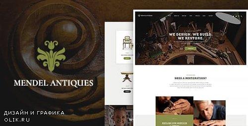ThemeForest - Mendel v1.1.2 - Furniture Design & Interior Restoration WordPress Theme - 20831042
