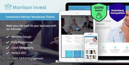 ThemeForest - Investments v1.6 - Business Financial Advisor WordPress Theme - 15341707