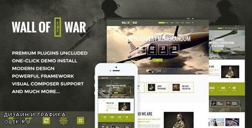 ThemeForest - Military Service v1.9.1 - Veterans Club Volunteer WordPress Theme - 12370769