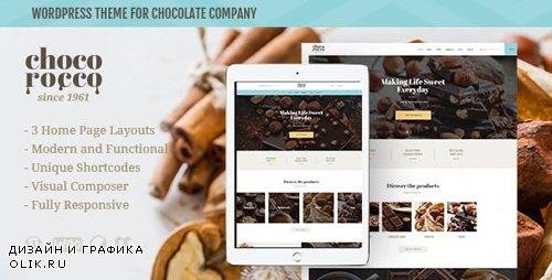 ThemeForest - ChocoRocco v1.2.1 - Chocolate Sweets & Candy Store WordPress Theme - 20769788