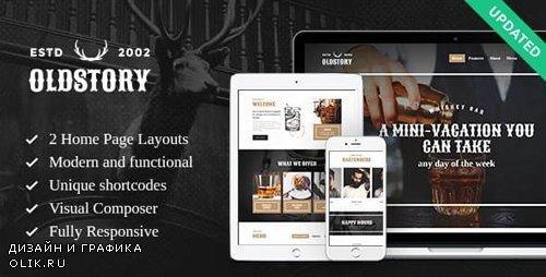 ThemeForest - OldStory v1.8 - Whisky Bar   Pub   Restaurant WordPress Theme - 15218043