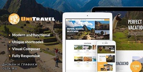 ThemeForest - UniTravel v1.2.1 - Travel Agency & Tourism Bureau WordPress Theme - 19670116