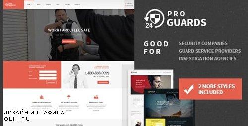 ThemeForest - ProGuards v1.5.0 - Safety Body Guard Security WordPress Theme - 13199602