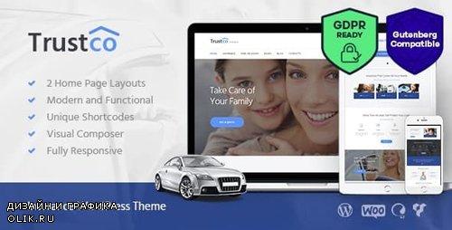 ThemeForest - Insurance v1.5 - Agency, Finance & Business WordPress Theme - 13209705