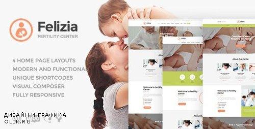 ThemeForest - Felizia v1.1.2 - Fertility Center & Medical WordPress Theme - 19452633