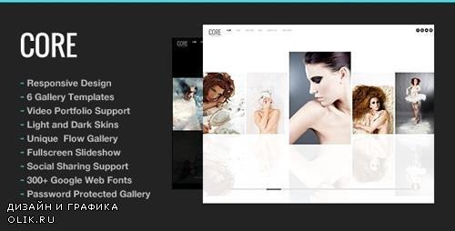 ThemeForest - Core v5.9.1 - Photography WordPress Theme - 240185
