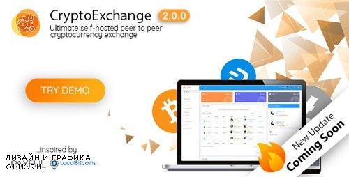 CodeCanyon - CryptoExchange v2.1.0 - Ultimate peer to peer CryptoCurrency Exchange platform (with self-hosted wallets) - 22764015 - NULLED