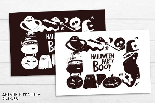 Halloween Vector Collection - 4073871