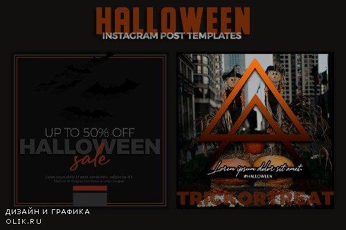 Halloween Instagram Post Templates - 4128484