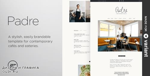 ThemeForest - Padre v1.1.0 - Cafe & Restaurant + Variant Page Builder - 11997844