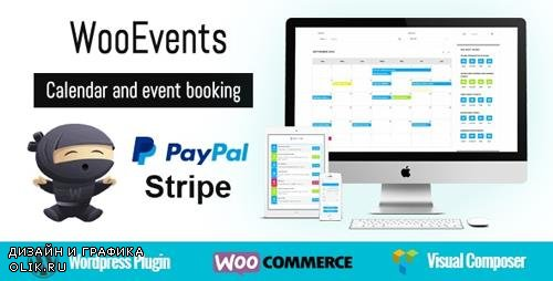 CodeCanyon - WooEvents v3.6 - Calendar and Event Booking - 15598178