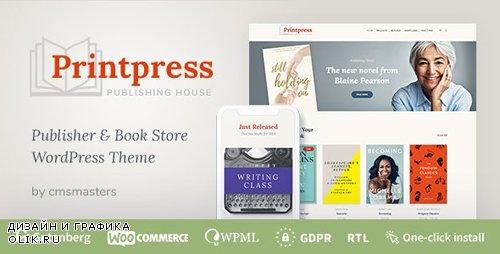 ThemeForest - Printpress v1.0.0 - Book Publishing WordPress Theme - 24014694