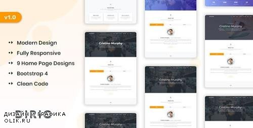 ThemeForest - Dirio v1.0 - Personal Portfolio and Resume Template - 24605732