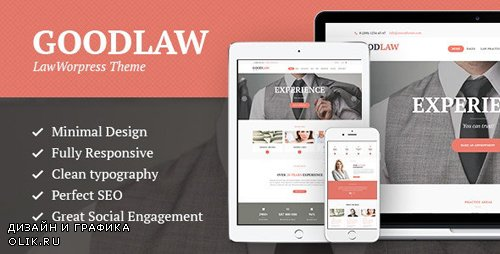 ThemeForest - GoodLaw v1.8 - A Lawyers & Legal Advisor Attorney WordPress Theme - 12187622