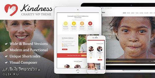ThemeForest - Kindness v1.4.1 - Non-Profit, Charity & Donation Organizations WordPress Theme - 13883055