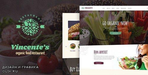 ThemeForest - Vincente's v1.1.3 - Organic Food Restaurant & Eco Cafe WordPress Theme - 20487770