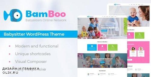 ThemeForest - BamBoo v1.1 - Child Care & Kids Babysitting Children WordPress Theme - 17324294