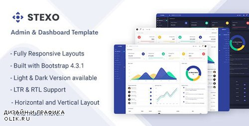 ThemeForest - Stexo v1.0 - Admin & Dashboard Template - 24189376